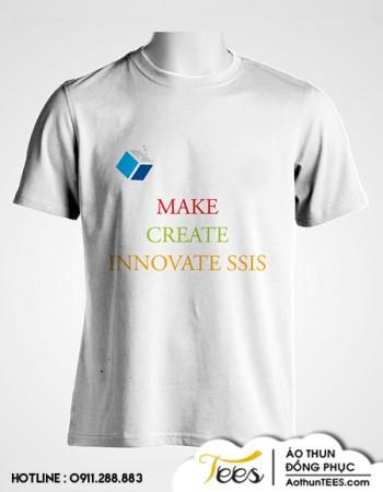 Áo thun sự kiện trường SSIS – Innovate