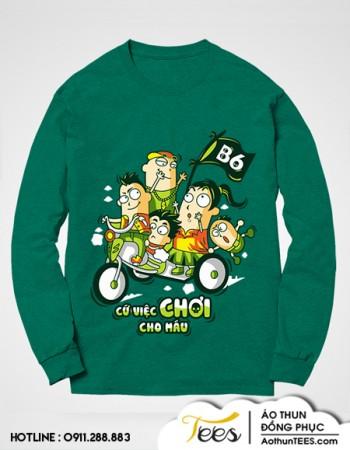 Áo sweater lớp 12B6 – THPT Nguyễn An Ninh