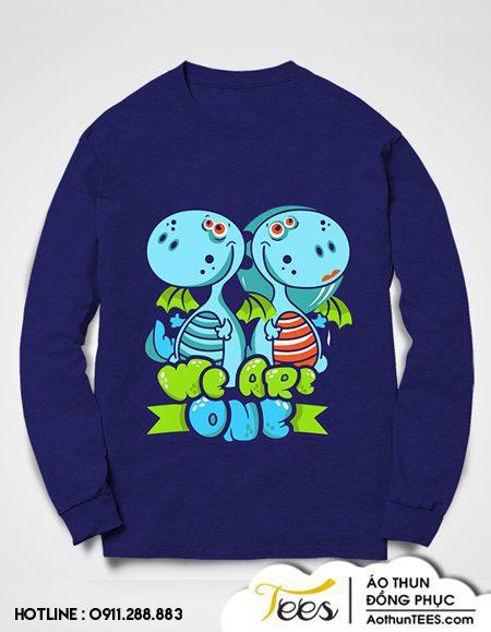 Áo sweater nhóm We are one