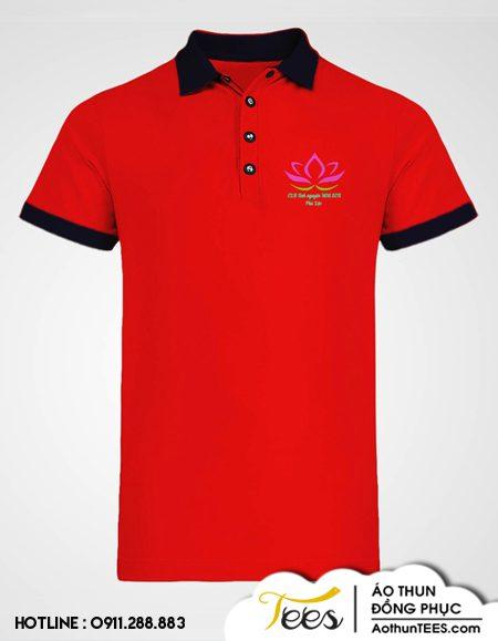 Áo thun đồng phục Câu lạc bộ Tình nguyện Hoa Sen Phú Lộc