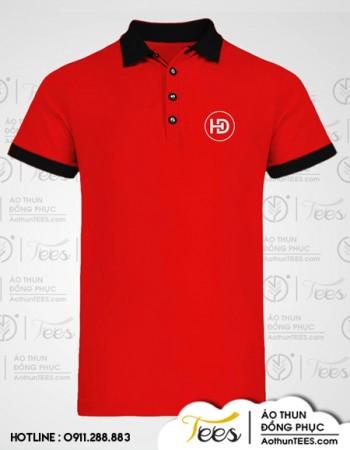 Áo thun đồng phục Cửa hàng Vật liệu xây dựng Hồng Đào