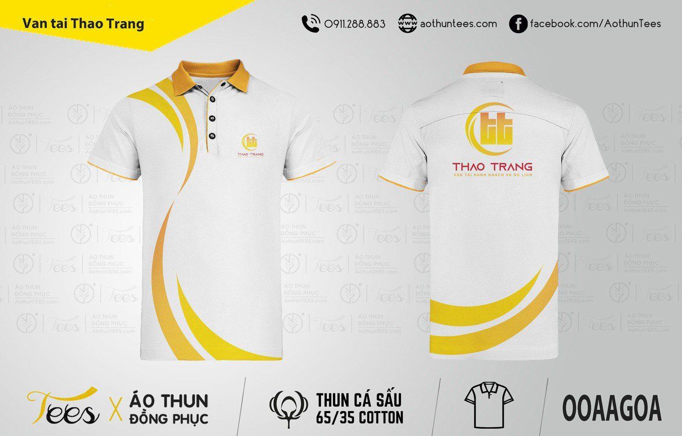 Áo thun đồng phục Công ty vận tải du lịch Thảo Trang