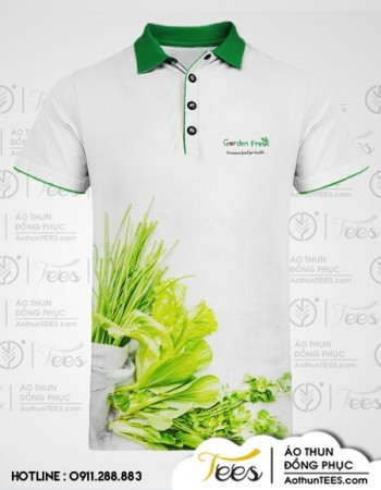 Áo thun đồng phục Cửa hàng Garden Fresh