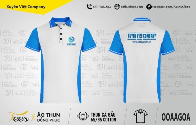 Áo thun đồng phục Công ty Xuyên Việt