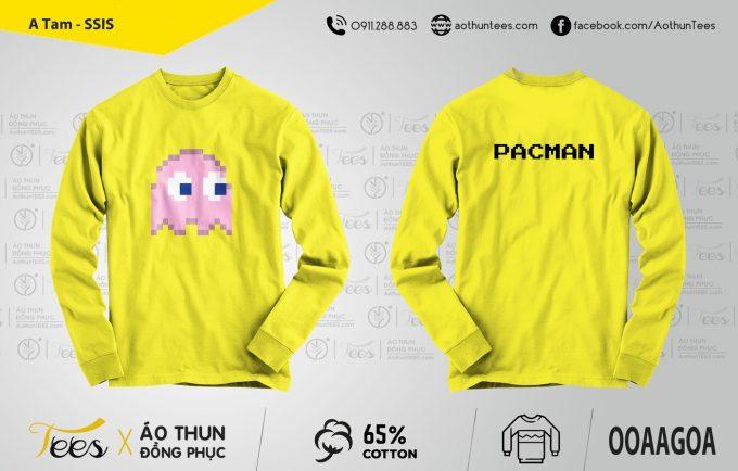 Áo sweater sự kiện trường SSIS – Mẫu Pacman