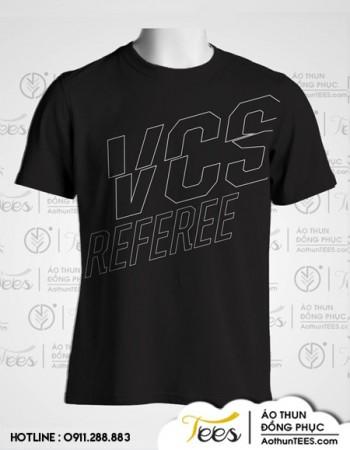 Áo thun đồng phục trọng tài VCS