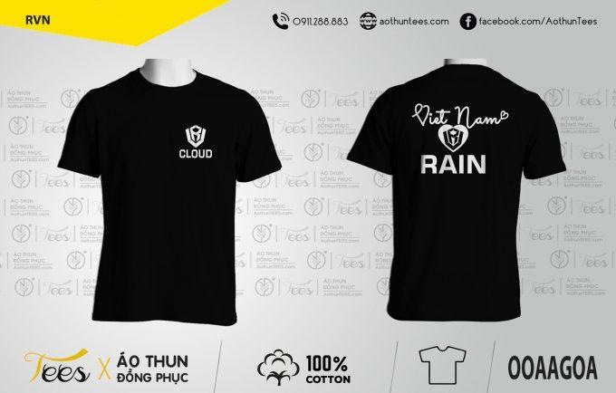 Áo thun đồng phục Nhóm Việt Nam Rain