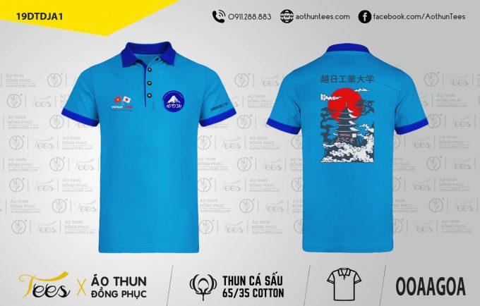 Áo thun đồng phục Viện Công Nghệ Việt Nhật Khóa 19DTDJA1
