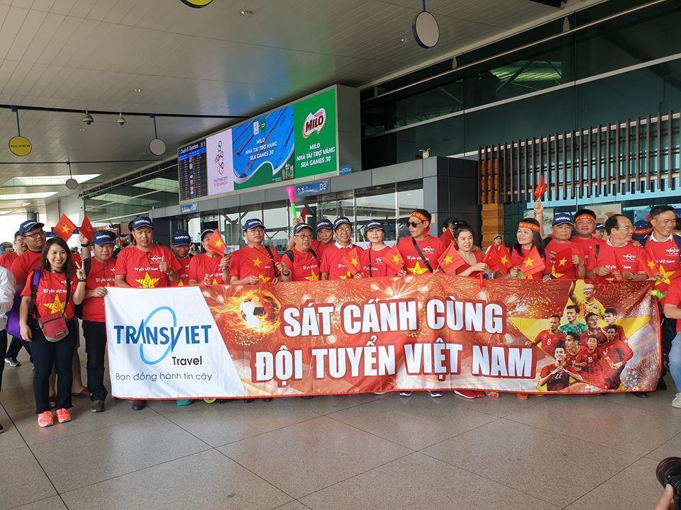 Áo thun du lịch cổ động Việt Nam vô địch chung kết Seagame 2019 – Công ty Transviet
