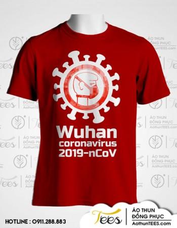 Áo thun phòng ngừa Wuhan Corona Virus 2019