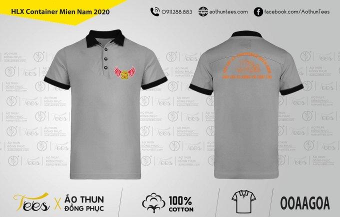 Áo thun đồng phục – Hội lái xe Container miền Nam – Mẫu xám 2020