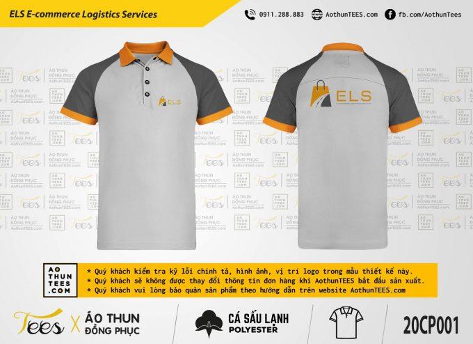 Áo thun đồng phục ELS E-Commerce Logistics Services
