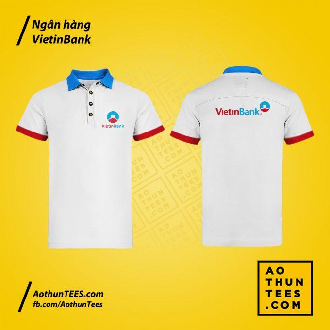 Áo thun đồng phục Ngân hàng Thương mại cổ phần Công Thương Việt Nam – Vietinbank