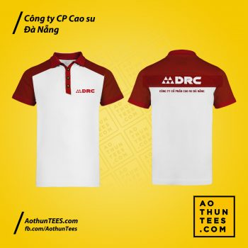 Áo thun đồng phục Công ty CP Cao su Đà Nẵng – DRC