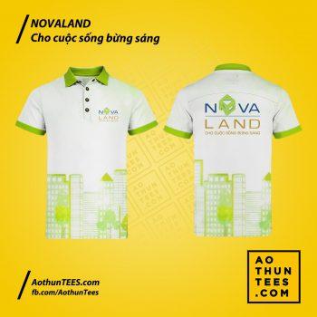 Áo thun đồng phục Tập đoàn Novaland