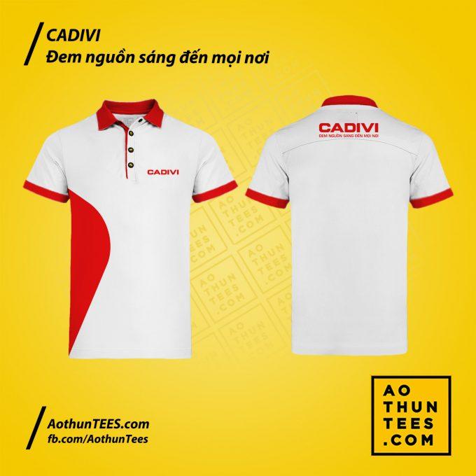 Áo thun đồng phục Công ty CP Dây Cáp Điện Việt Nam – CADIVI