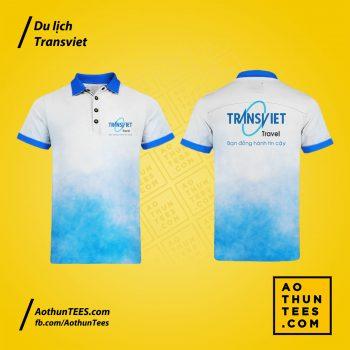Áo thun đồng phục Công ty Du lịch TransViet 2020