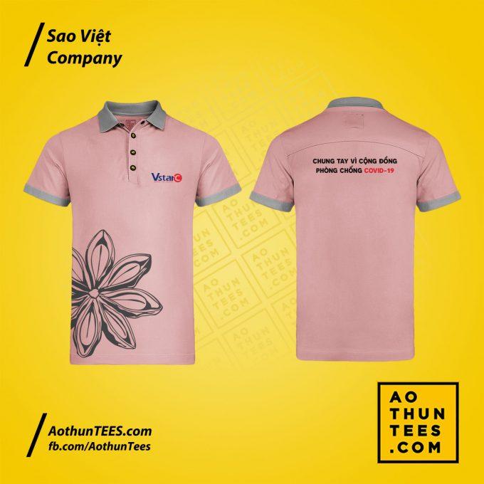 Áo thun đồng phục Sao Việt Company