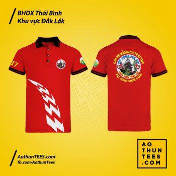 Áo thun đồng phục Bạn hữu đường xa Thái Bình – Khu vực Đắk Lắk