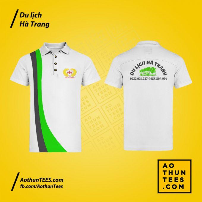 Áo thun đồng phục Du lịch Hà Trang