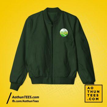 Áo khoác Bạn hữu đường xa – An toàn về nhà – Màu xanh rêu