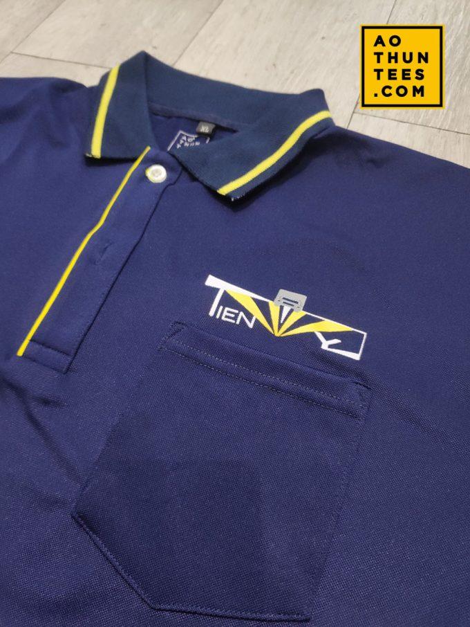 Áo thun đồng phục Công ty TNHH TM DV Vận tải Tiến Vy