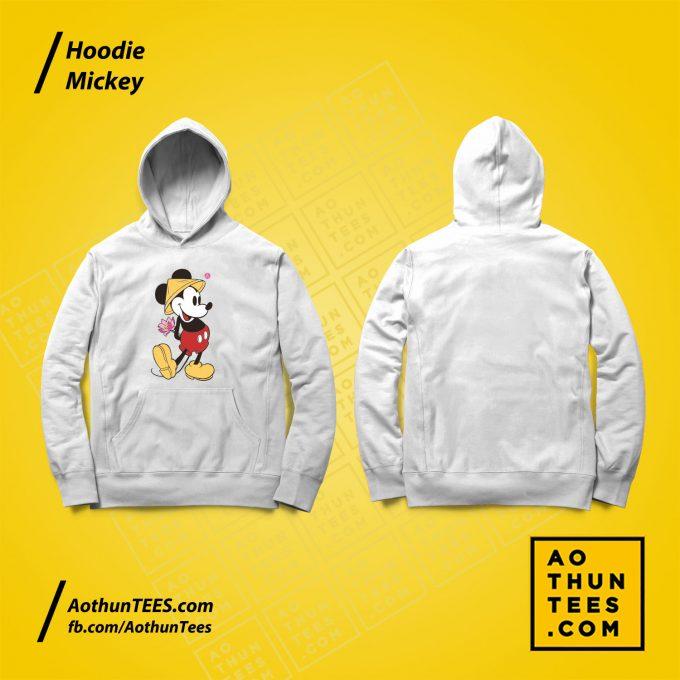 Áo hoodie Mickey