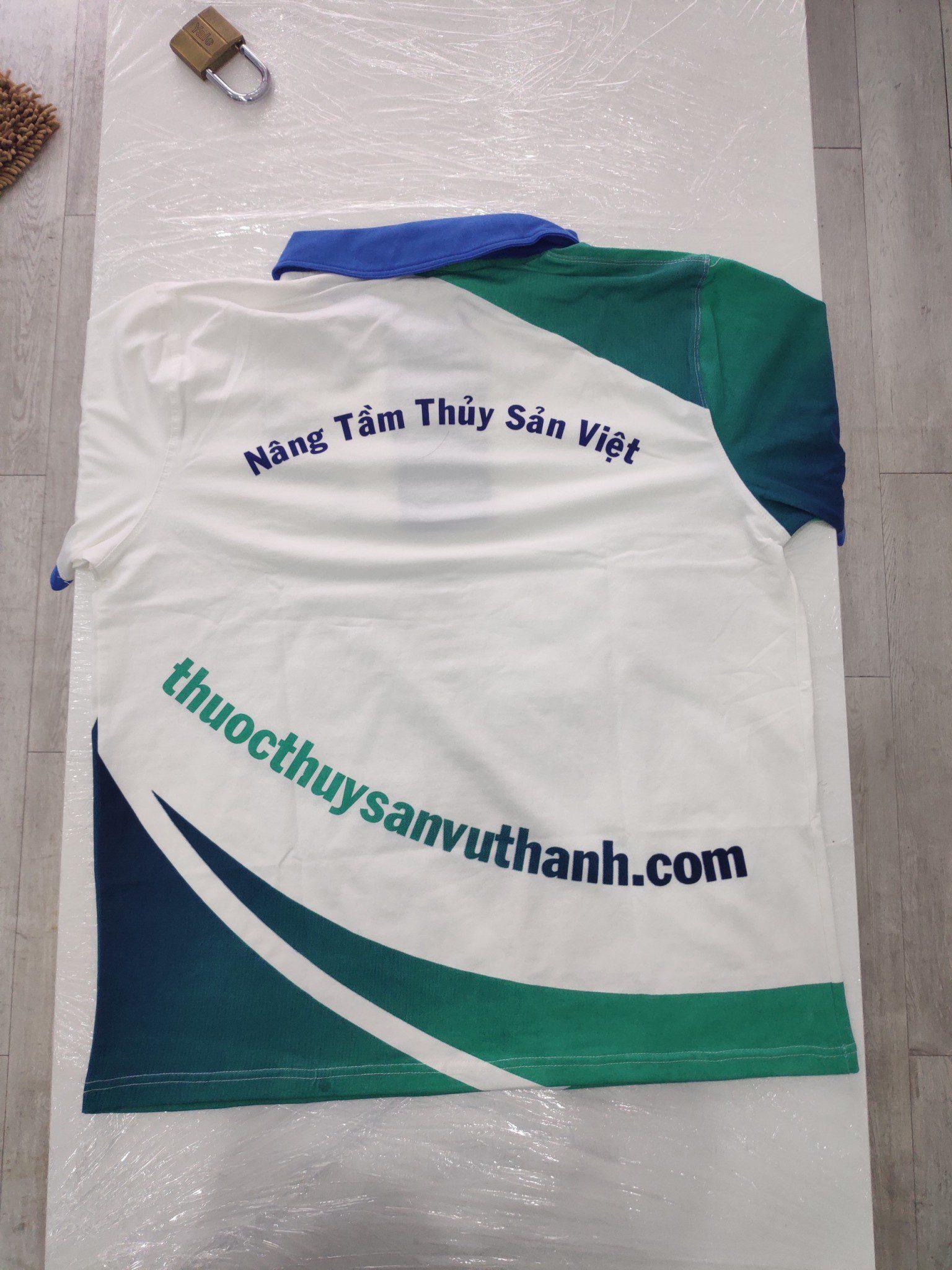 Áo thun đồng phục Công ty TNHH Sản xuất – Thương mại – Dịch vụ Vũ Thành