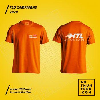 Áo thun đồng phục HTL Campaigns 2020
