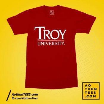 Áo thun đồng phục TROY University