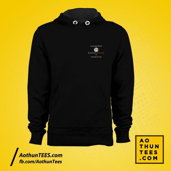 Áo hoodie đồng phục WordsOnline