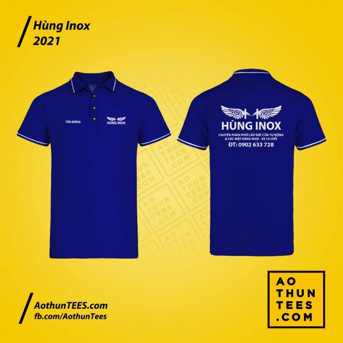 Áo thun đồng phục Cửa hàng Hùng Inox – tay ngắn